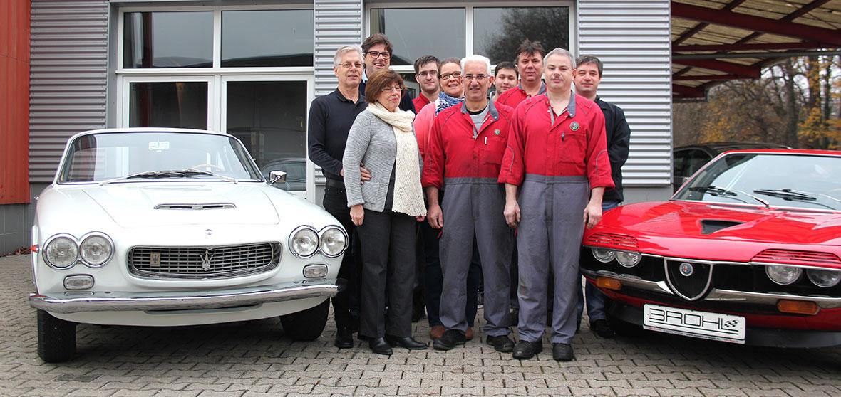 Das Team von Autohaus Brohl