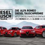 ALFA ROMEO Diesel Tauschprämie
